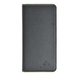 "POWERTECH Θήκη Magnet Leather Slide Wide για Smartphone 5.2-5.5"", μαύρη"
