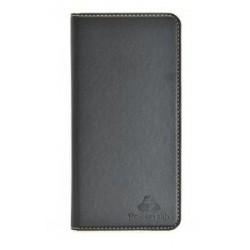 "POWERTECH Θήκη Magnet Leather Slide Wide για Smartphone 5.5-5.9"", μαύρη"
