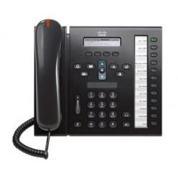 CISCO used Unified IP Phone 6961, POE, Dark Gray