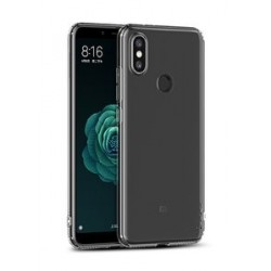 IPAKY Θήκη Effort TPU & tempered glass για Xiaomi Mi A2, διάφανη