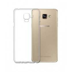 IPAKY Θήκη Effort TPU & tempered glass για Samsung A8 2018, διάφανη