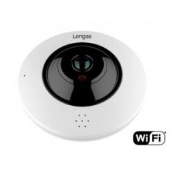 LONGSE IP WiFi PoE Dome Κάμερα IPP-004, 3MP Fisheye 360°, IR 20M, metal