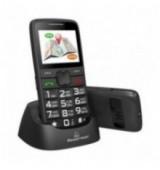 POWERTECH Κινητό Τηλέφωνο Sentry GPS PTM-12, SOS Call, με φακό, μαύρο