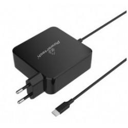 POWERTECH Φορτιστής laptop PT-703, USB Type-C PD, Universal, 65W, μαύρο