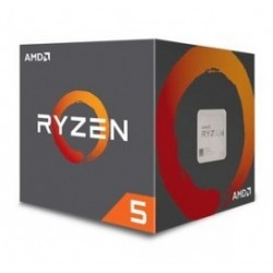 AMD CPU Ryzen 5 2600X, 3.6GHz, 6 Cores, AM4, 19MB, Wraith Spire cooler