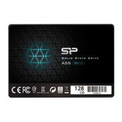"SILICON POWER SSD A55 128GB, 2.5"", SATA III, 550-420MB/s 7mm, TLC"