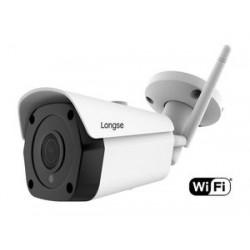 LONGSE IP WiFi Bulet Κάμερα, 1080p, 2MP 3.6mm, αδιάβροχη, μεταλλική