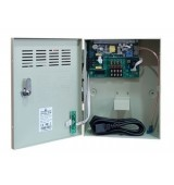 POWERTECH τροφοδοτικό CP1204-3A-B για CCTV-Alarm, DC12V 3A, 4 κανάλια
