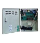 POWERTECH τροφοδοτικό CP1209-10A-B για CCTV-Alarm, DC12V 10A, 9 κανάλια