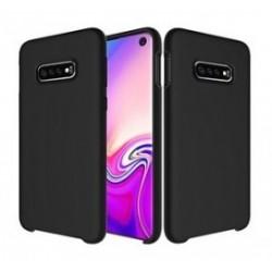 POWERTECH Θήκη Silicon Velvet για Samsung Galaxy S10e/lite, μαύρη