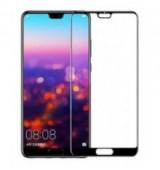 POWERTECH Tempered Glass 5D Full Glue για Huawei P20, Black