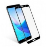 POWERTECH Tempered Glass 5D Full Glue για Huawei Y6/Y6 Prime 2018, μαύρο
