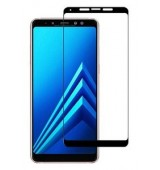 POWERTECH Tempered Glass 5D Full Glue για Samsung A8 Plus 2018, Black