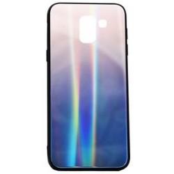 POWERTECH Θήκη Aurora Glass για Samsung J6 2018, καφέ-μαύρη