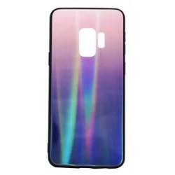 POWERTECH Θήκη Aurora Glass για Samsung S9 G960, καφέ-μαύρη