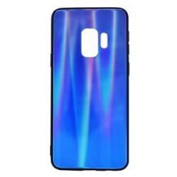 POWERTECH Θήκη Aurora Glass για Samsung S9 G960, σκούρο μπλέ
