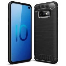 POWERTECH Θήκη Carbon Flex MOB-1254 για Samsung Galaxy S10e, μαύρη