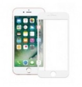 POWERTECH Tempered Glass 5D Full Glue για iPhone 6 Plus, White