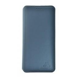 POWERTECH Θήκη Slim Leather για Huawei P20 Lite, γκρι