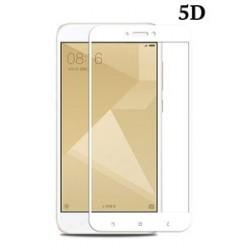 POWERTECH Tempered Glass 5D Full Glue, Xiaomi Redmi 5A Qualcomm, λευκό