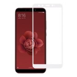 POWERTECH Tempered Glass 5D Full Glue για Xiaomi A2 Qualcomm, λευκό