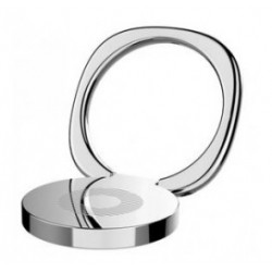 BASEUS finger ring holder Symbol SUMQ-0S, ασημί