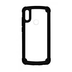 POWERTECH Θήκη Frame PC & TPU MOB-1331 για Samsung Galaxy A40, μαύρη