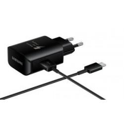 SAMSUNG Φορτιστής EP-TA300CBEGWW USB 2.0 σε Type-C, 2.1A 25W, μαύρος