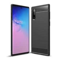 POWERTECH Θήκη Carbon Flex MOB-1365 για Samsung Note 10, μαύρη