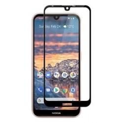 POWERTECH Tempered Glass 5D Full Glue, Nokia 3.2, μαύρο