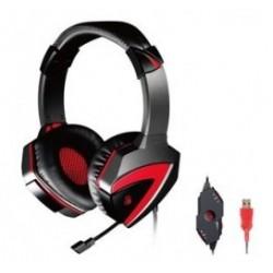 BLOODY Gaming Headset BLD-G501, 7.1CH, 40mm, USB, 100dB, μαύρα