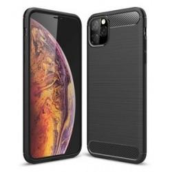 POWERTECH Θήκη Carbon Flex MOB-1378 για iPhone 11 Pro, μαύρη
