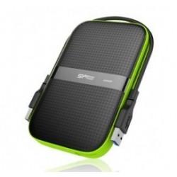 SILICON POWER εξωτερικός HDD Armor A60 2TB, USB 3.1, μαύρο