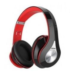 MPOW bluetooth headphones 059 wireless & wired, 40mm, mic, μαύρο-κόκκινο