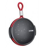 VTIN φορητό ηχείο VNBH221AB, BT, IPX5, 4W RMS, 1000mAh, μαύρο-κόκκινο