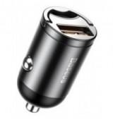 BASEUS φορτιστής αυτοκινήτου Tiny Star VCHX-A0G, USB 30W, γκρι