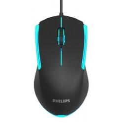 PHILIPS ενσύρματο gaming ποντίκι SPK9314, 1200DPI, 3 πλήκτρα, μαύρο
