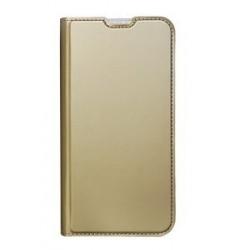 POWERTECH Θήκη Βook Elegant MOB-1462 για Huawei P30 Lite, χρυσή