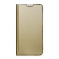 POWERTECH Θήκη Βook Elegant MOB-1438 για Samsung A20, χρυσή
