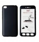 POWERTECH Θήκη Body 360° με Tempered Glass για Xiaomi Redmi Go, μαύρη