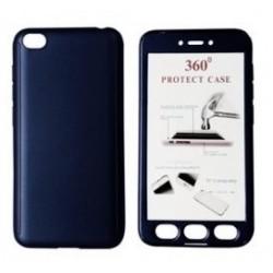 POWERTECH Θήκη Body 360° με Tempered Glass για Xiaomi Redmi Go, μπλε