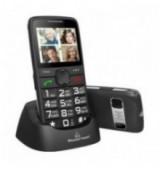 POWERTECH Κινητό Τηλέφωνο Sentry Eco PTM-18, SOS Call, με φακό, μαύρο