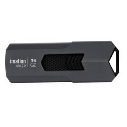IMATION USB Flash Drive Iron KR03020045, 16GB, USB 2.0, γκρι