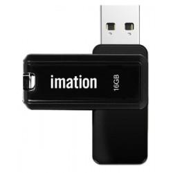 IMATION USB Flash Drive Nano II KR03020001, 16GB, USB 2.0, μαύρο