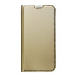 POWERTECH Θήκη Βook Elegant MOB-1453 για Samsung A70, χρυσή