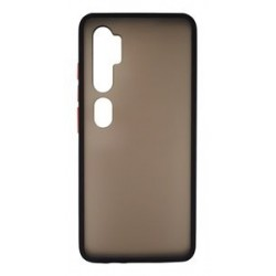 VENNUS Θήκη Color Button VNS-0011 για Xiaomi Mi Note 10/10 Pro, μαύρη