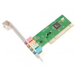 POWERTECH Κάρτα Επέκτασης PCI to 6 channel Audio, Chipset ES1938S