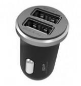 SILICON POWER φορτιστής αυτοκινήτου CC102P, 2x USB, 2.1A, μαύρος