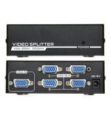 POWERTECH VGA splitter CAB-G030, 1 σε 4 συσκευές, 1920x1440px, 200MHz