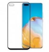 POWERTECH Tempered Glass 5D, full glue, Huawei P40 2020, μαύρο